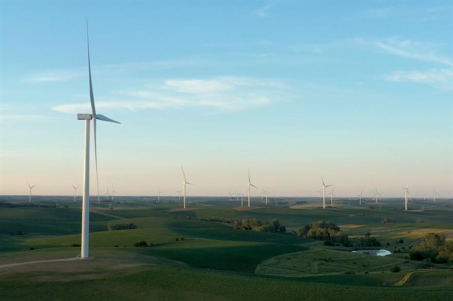 Ørsted's 230MW Plum Creek project in Nebraska contributed to the 4GW in new wind capacity added in H1 2020