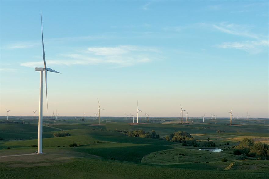 The US added 17GW of new capacity in 2020, including Ørsted's 230MW Plum Creek wind farm in Nebraska