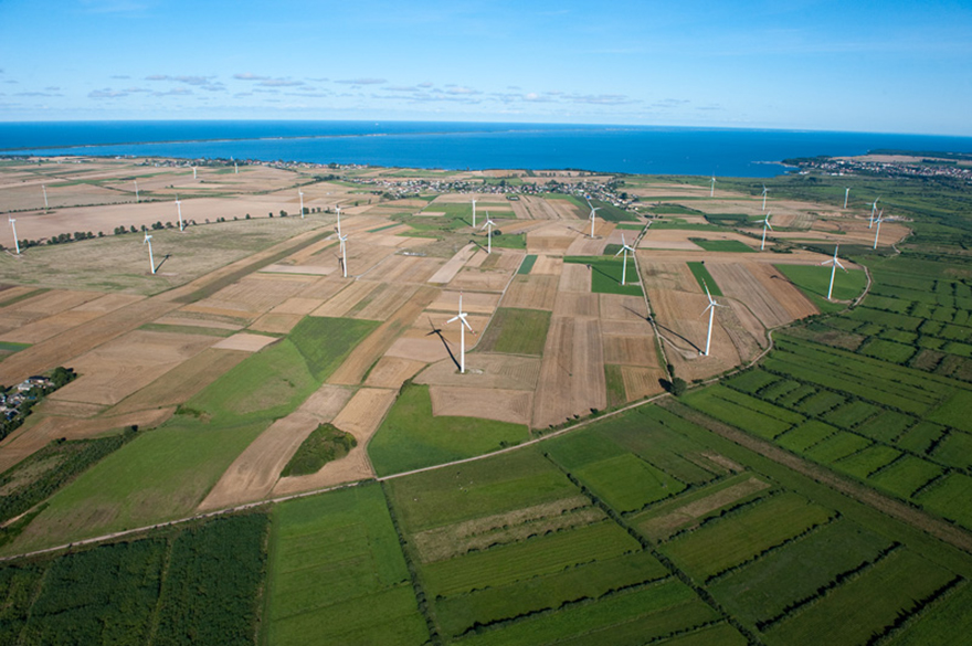Onshore wind developments have stopped due to legislative changes (pic: Polenergia)