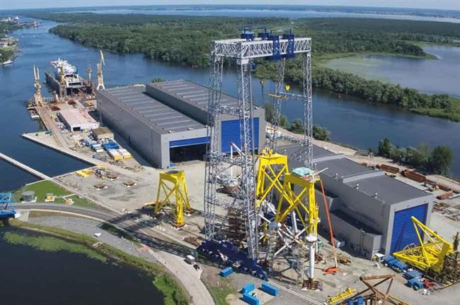 Supply chain… Poland has a head start when it comes to suppliers, with Szczecin-based ST3 making jacket foundations for Ørsted's Borkum Riffgrund 2 project
