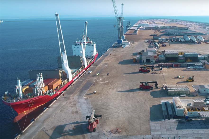 The planned project would be built in the Port of Duqm, next to the Arabian Sea (pic credit: port of Duqm)