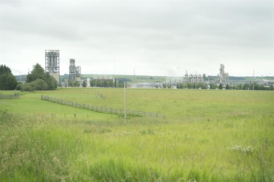 One of the PPAs will help to power Dow's polyethylene plant in Prentiss, Alberta in Canada