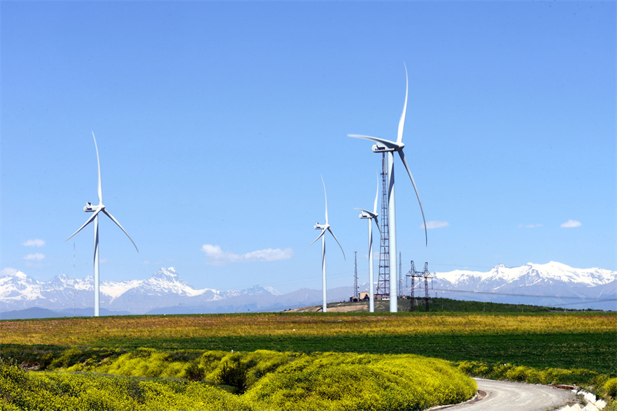 Georgia has just one 20.7MW wind farm in the east of the country, which was commissioned in 2016 (pic credit: EU Neighbours)