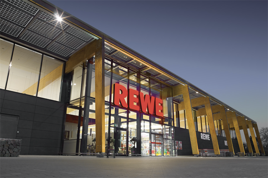 REWE estimates the deal with Ørsted equals the power consumption of 1,500 of its stores