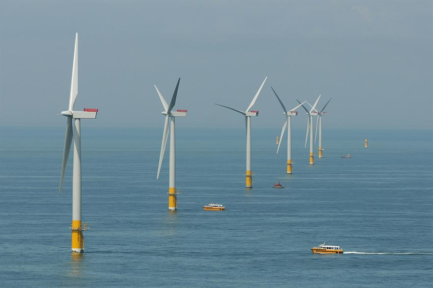 Seagreen partner SSE's offshore wind assets include the Greater Gabbard project off the south-east coast of England (pic: RWE)