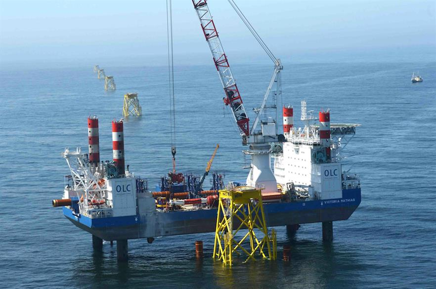 First electricity has been exported from the 295MW Nordsee Ost