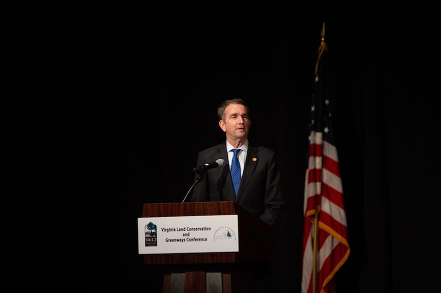 Governor Ralph Northam said Virginia is a 'prime location' for offshore wind