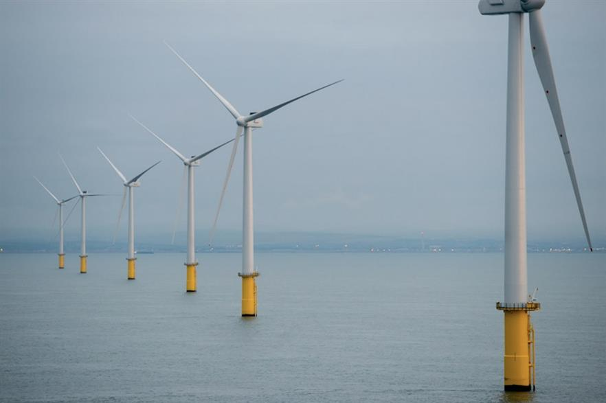 The 400MW Rampion project consists of 116 of Vestas' V112-3.3MW turbines (pic credit: E.on)