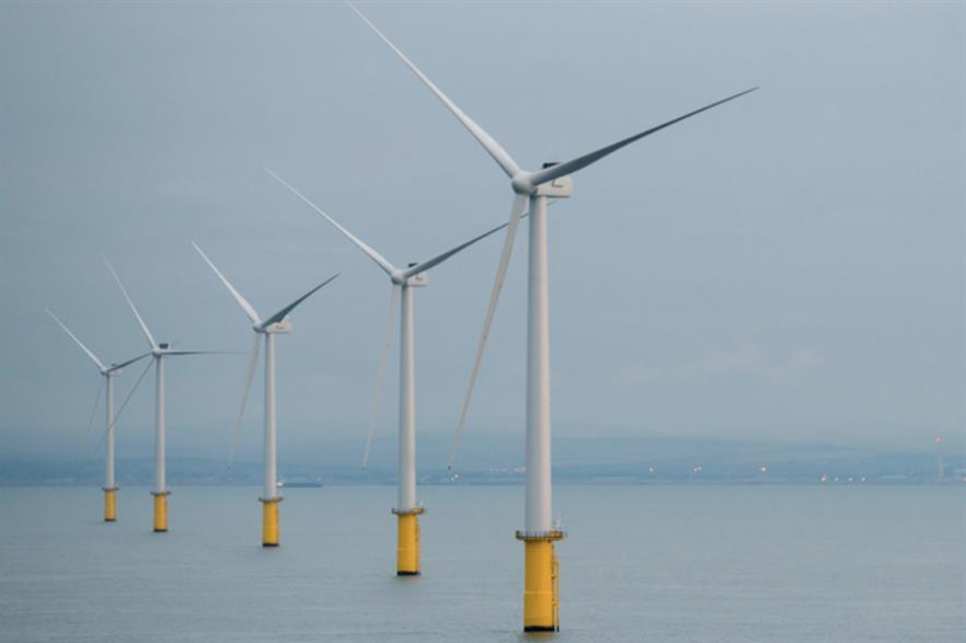 E.on commissioned the 400MW Rampion project off the south coast of England in 2018