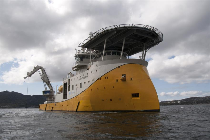 Reef Subsea will send its Reef Despina vessel to Global Tech 1