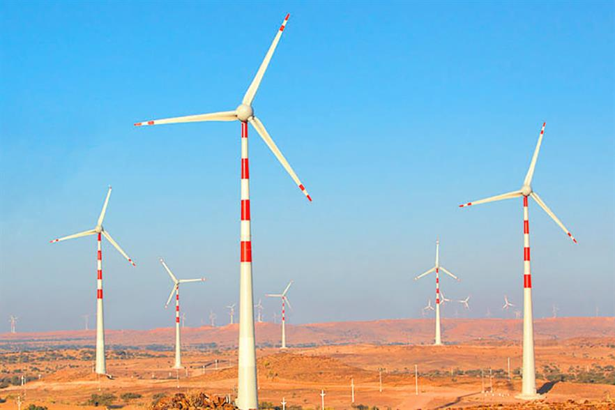 ReNew currently owns more than 5GW of operational wind and solar capacity in India