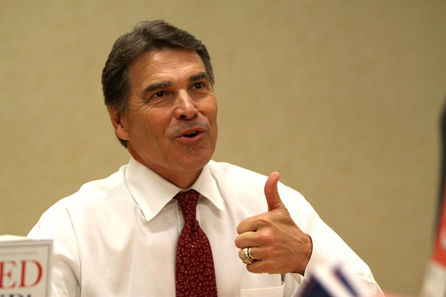 Industry and politicians have criticised DOE secretary Rick Perry's new rule suggestion (pic: Gage Skidmore)