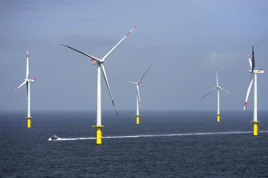 The most common offshore turbine, the Siemens 3.6MW, is being challenged by 5-6MW models