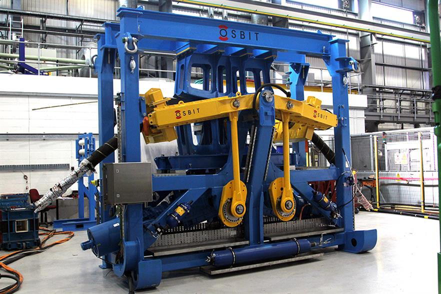 ORE Catapult's dynamic cable test rig