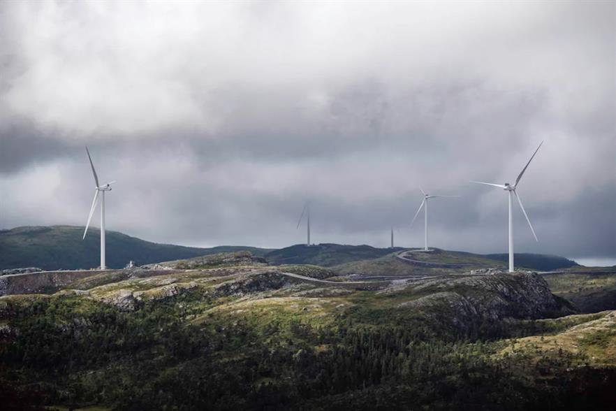 The Roan project is part of the large Fosen wind hub (pic credit: Ole Martin Wold/Statkraft)