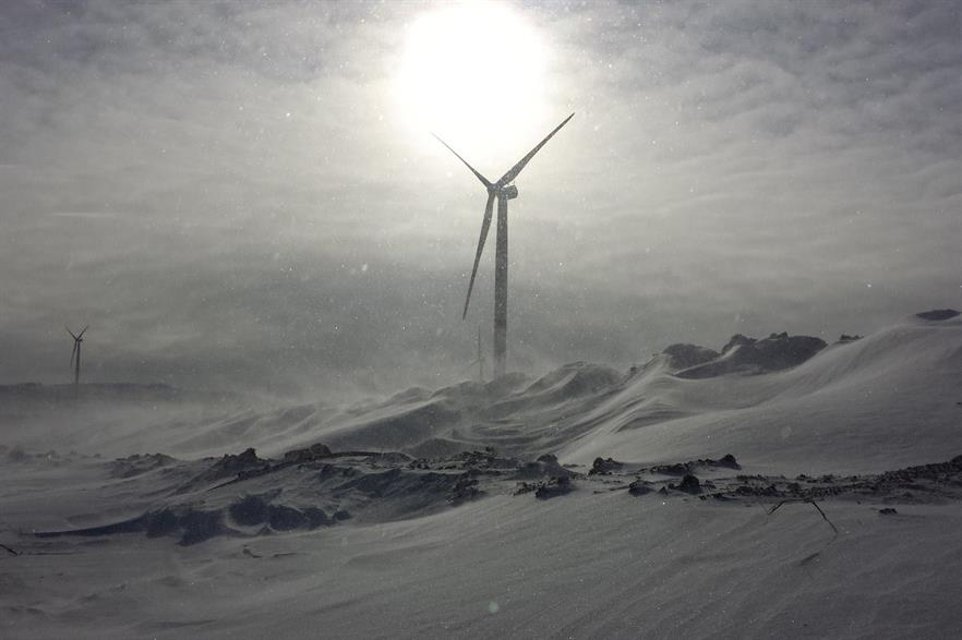 Russia held its first wind power auction, for more than 1.6GW of capacity, in June