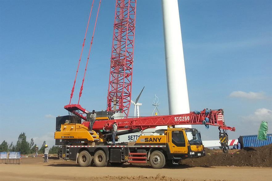 Sany provided 102 1.5MW turbines to the Adama II site in Ethiopia