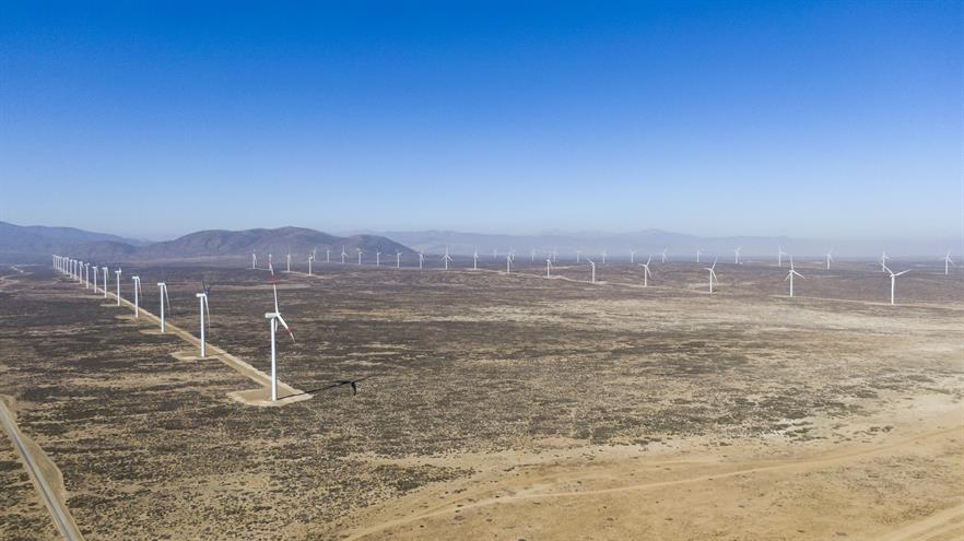 SGRE will add 12 5.0MW-145 turbines to the 55 2.1MW-114 machines currently operating at the Atacama desert site