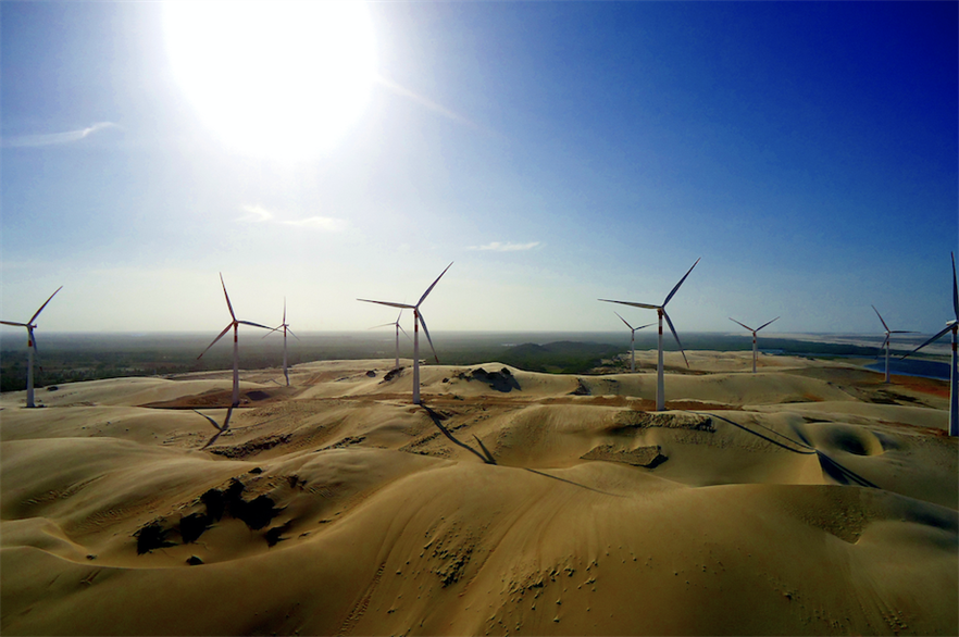 Siemens Gamesa secured an order to supply a 465MW wind farm in Brazil in December