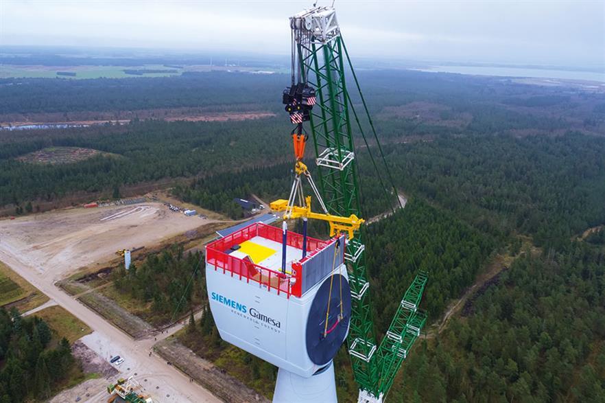 Hollandse Kust Zuid will comprise 140 SGRE 11MW turbines