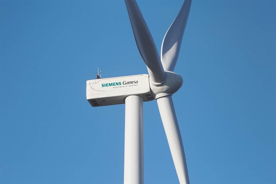 Siemens Gamesa revenues fall again, but order backlog is at new high