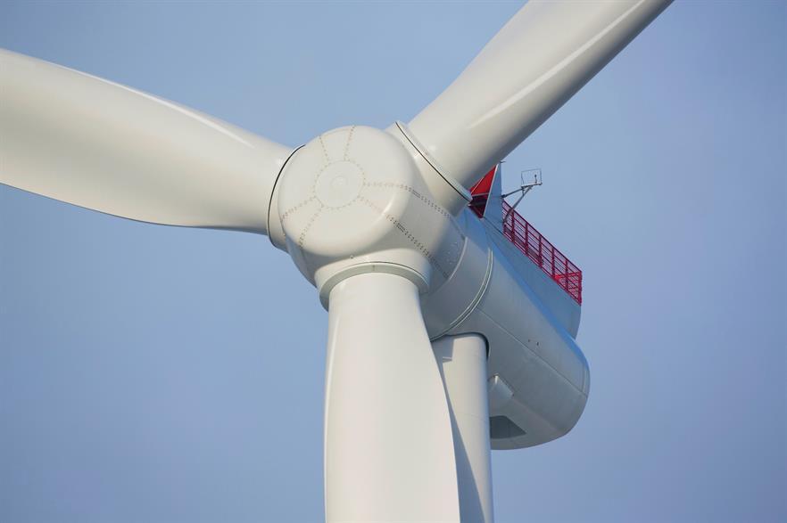 SGRE will supply the 8MW turbine to Dong Energy's Borssele I&II