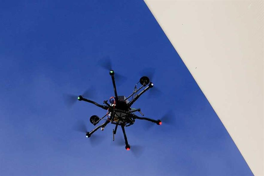 Inspector calling… The company aims to launch its drone blade inspection service this year