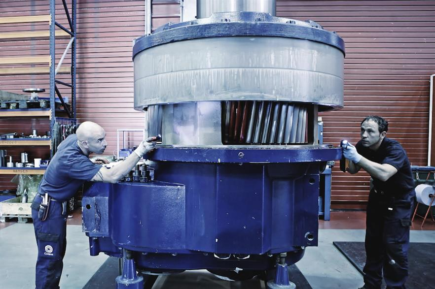 Gearbox refurbishment work will be carried out in Spain, where SGRE has five manufacturing facilities