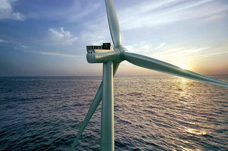Direct drive… SGRE has stretched the rating and rotor of its popular offshore turbine