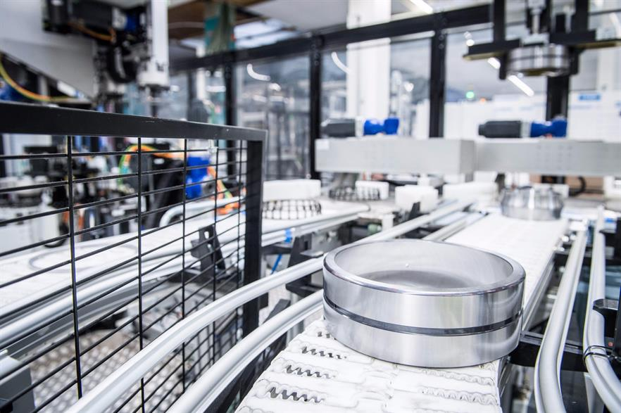 SKF makes bearings for a number of industries including wind