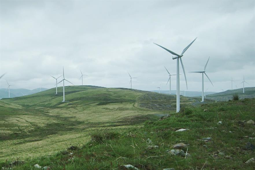 The majority of wind farms auctioned under five tenders before 2025 would be in Scotland (pic: SSE)