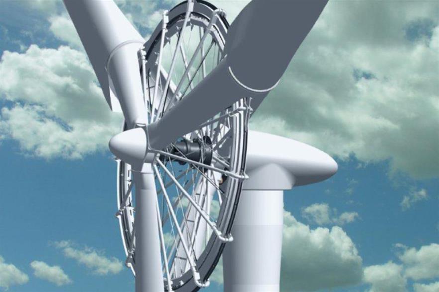 Sway Turbine's ST 10WM machine