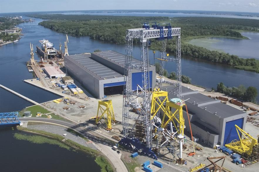 Poland's offshore wind sector deal could consist of promises to invest in the supply chain, mirroring provisions in a similar deal in the UK (pic: ST3)