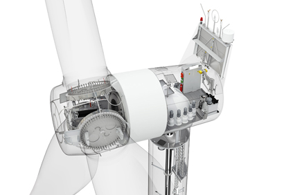 The Siemens SWT-2.3 101 wind turbine