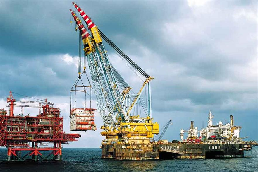 Track record… The vessel has already proved itself in the offshore oil and gas sector