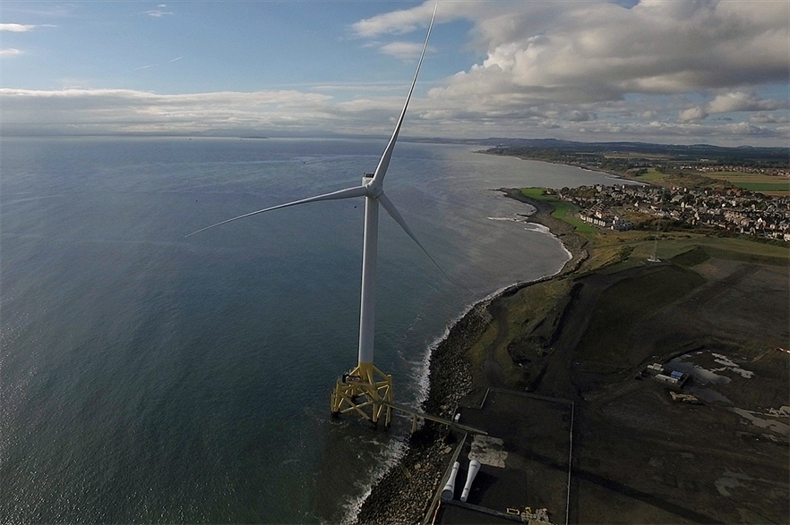 Samsung Heavy Industries previously developed a 7MW offshore turbine and installed a prototype installed at Levenmouth in Scotland, now owned by ORE Catapult