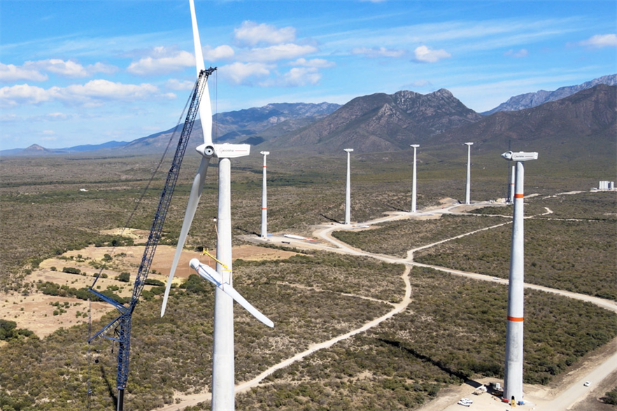 A large number of wind farms connected to the grid caused imbalances, CFE claimed (pic credit: Acciona)