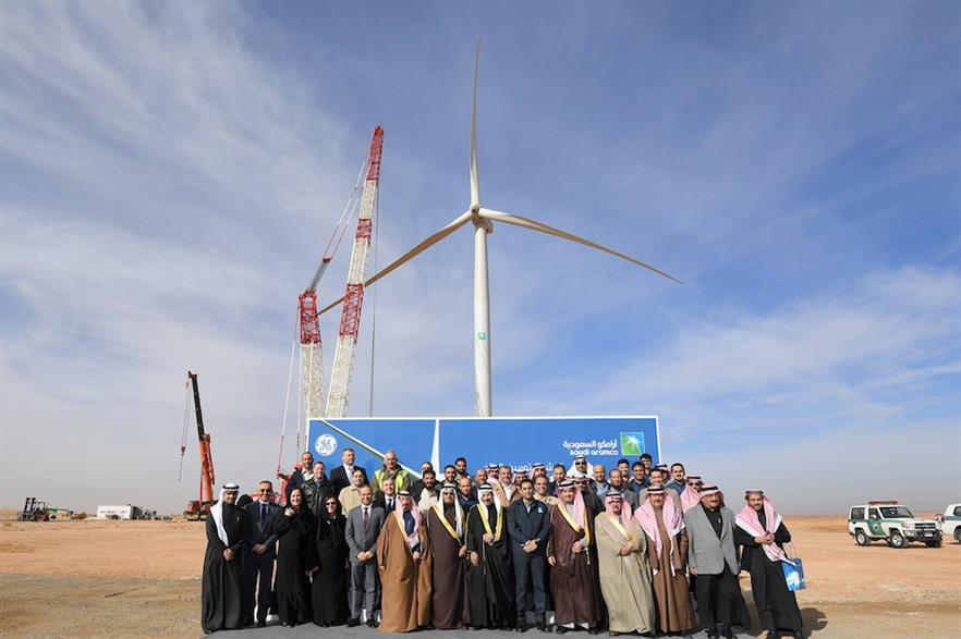 Saudi Arabia has just one operational turbine – a GE 2.75-120 unit owned by oil giant Saudi Aramco