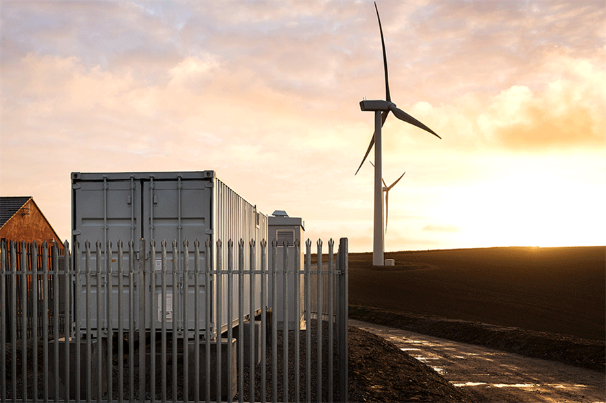 ScottishPower Renewables has installed a 1MW battery at the 20MW Carland Cross site in Cornwall