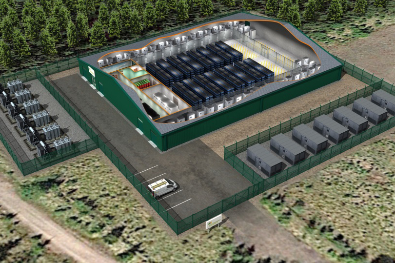 The 50MW Whitelee battery will be the largest in the UK, installed at one of the country's largest onshore wind projects (pic: Iberdrola)