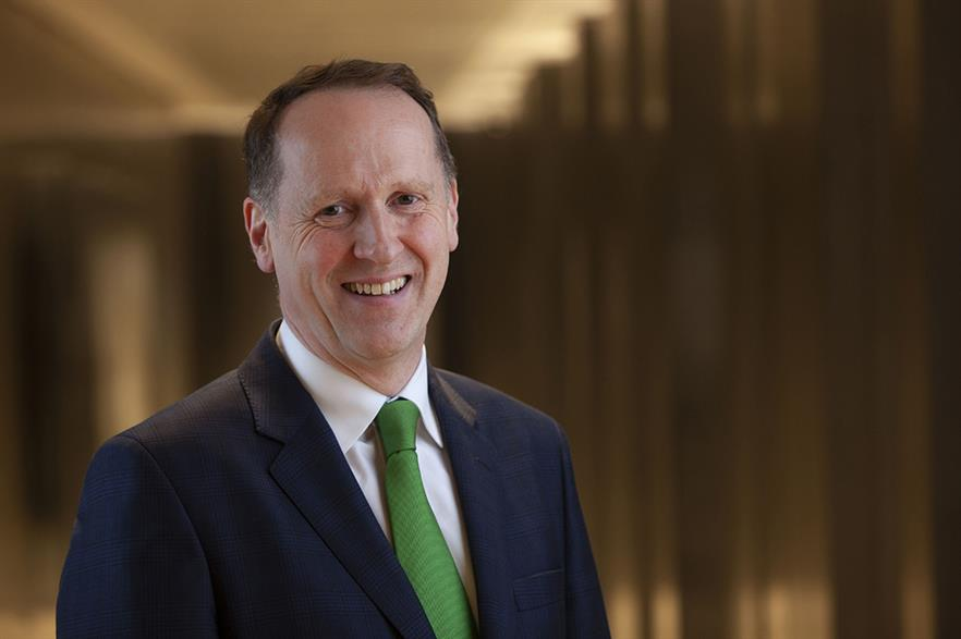 ScottishPower CEO Keith Anderson wants to 'squeeze' as much green electricity from projects as possible