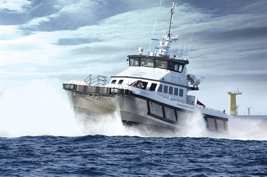 Seacat Services seek reassurance the UK supply chain will benefit from the sector deal