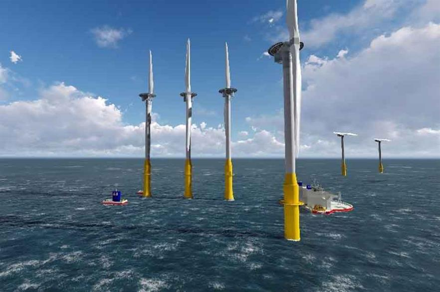 Seawind expects to install the first demonstrator of the two-blded 6.2MW turbine off Norway in 2018