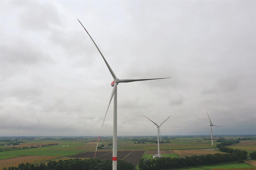 During the third quarter Senvion installed the first prototype of its 3.6M140 turbine