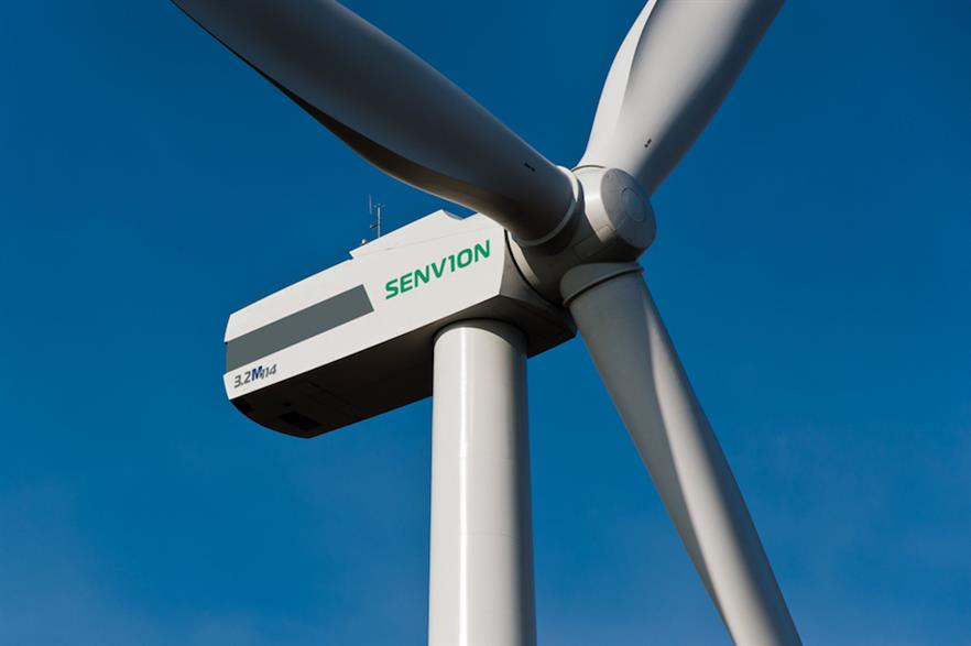 Two of Senvion's 3.2M114 turbines (above) will be installed at the Rathnacally site