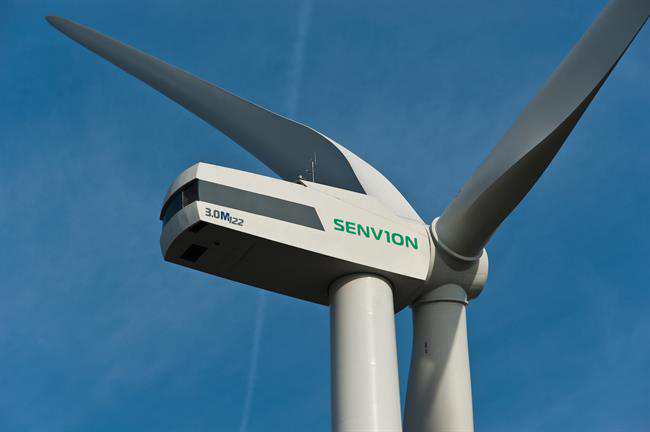 Senvion will supply a modified version of its 3.0M122 turbine to Italy's first offshore wind project