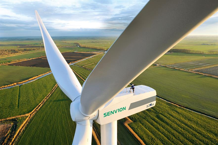 The turbines are adaptions of the 3.2M114 model