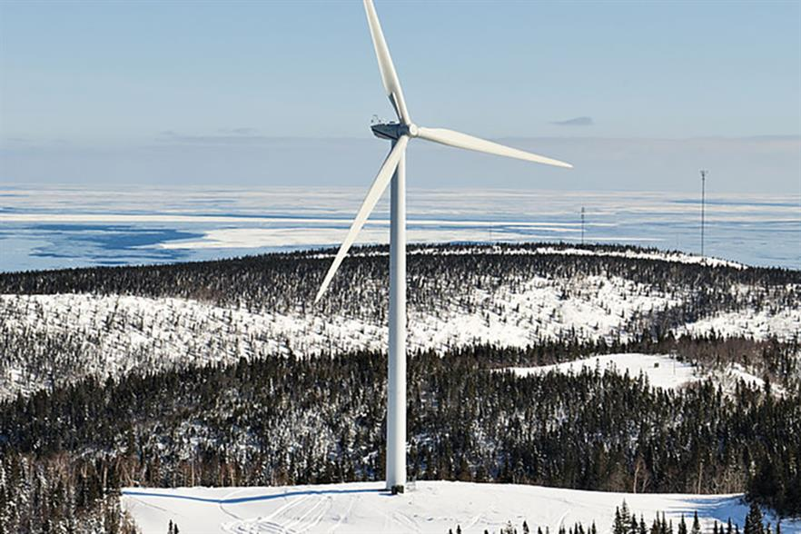 Senvion has approximately 850MW of turbine capacity installed in Canada