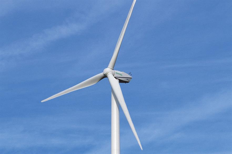 Senvion's MM92 2.05MW turbine will be installed at the North Steads project