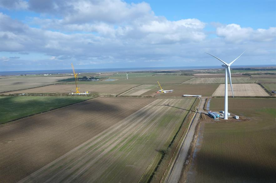 The Withernwick II extension will consist of four of Senvion's 2.05MW MM92 turbines